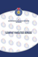 Kahramanmaraş Sütçü İmam Üniversitesi İlahiyat Fakültesi Dergisi